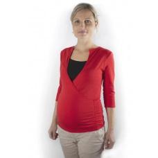 Tričko těhotenské a kojíci s výstřihem