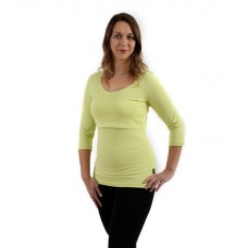 Tričko těhotenské a na kojení 3/4 rukáv