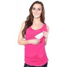 Tričko bez rukávu těhotenské a na kojení