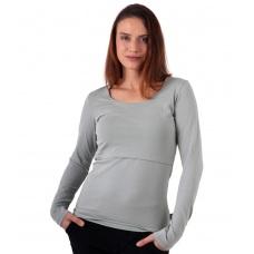 Tričko těhotenské a mateřské s dlouhým rukávem