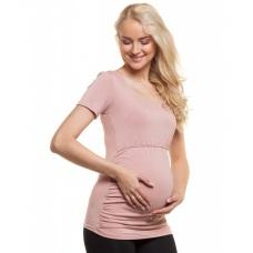 Těhotenské a kojící tričko s krátkým rukávem