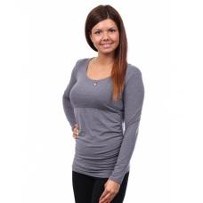 Těhotenské a kojící tričko s dlouhým rukávem